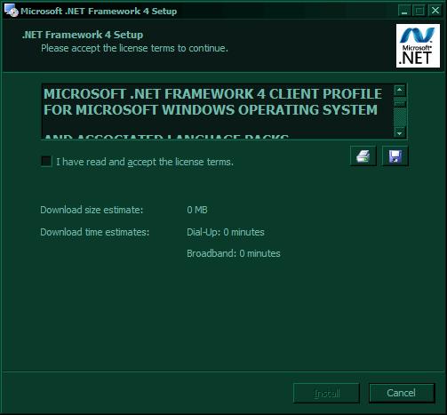 .net 4.0 EULA window